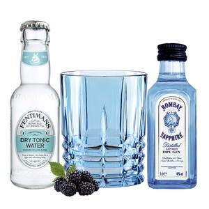 Bombay Gin Tasting Set incl. Highland Aqua Glas