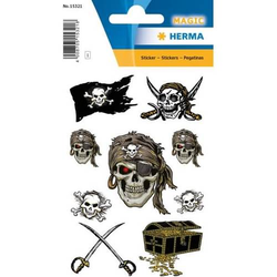 Sticker Magic Piraten VE=1 Blatt