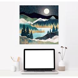 Posterlounge Wandbild, Sternensee 70 cm x 70 cm