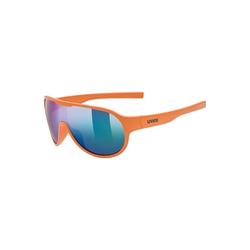 Uvex Sonnenbrille Sonnenbrille sportstyle 512 orange mat/mir.green orange