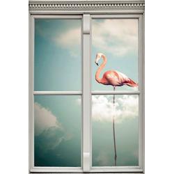 queence Wandsticker Flamingo