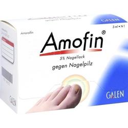 AMOFIN 5% Nagellack 3 ml