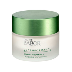 DOCTOR BABOR Cleanformance Revival Cream Rich - stärkt die Hautbarriere und w...