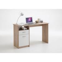 FMD Schreibtisch Jackson Eiche/weiß