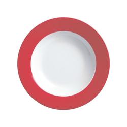 Ritzenhoff & Breker Single Geschirr-Set Doppio (4-tlg), Porzellan rot