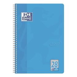 Collegeblock »Touch« A4+ kariert, Optik-Papier blau, Oxford