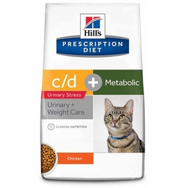 Hill's Prescription Diet Feline c/d Urinary Stress + Metabolic 1,5 kg