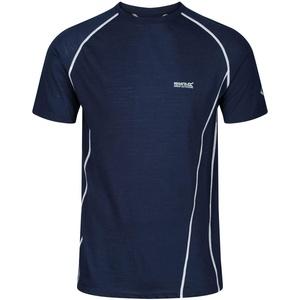 Regatta Tornell II Atmungsaktives T-Shirt, Merino, T-Shirts/Polos/Vests, Herren, Nightfall, L