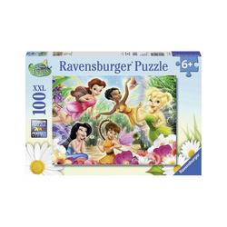 Ravensburger Puzzle Puzzle, 100 Teile XXL, 49x36 cm, Meine Fairies, Puzzleteile