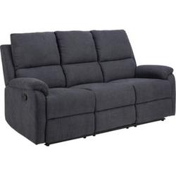 Sabel Sofa 3 Sitzer Recliner grau Wohnlandschaft Wohnzimmer Couch Wohnzimmersofa