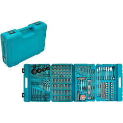 MAKITA Bohrer- und Bit-Set P-44046, 216-tlg. blau