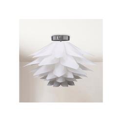 B.K.Licht LED Deckenleuchte Aquila, LED Deckenlampe Puzzle-Lampe DIY Blume E27 Wohnzimmer Kinderzimmer Ø51cm
