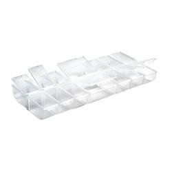 VBS Aufbewahrungsbox, Kunststoff, mit 14 Fächern
