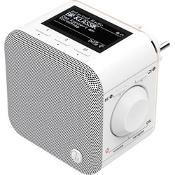 Hama IR40MBT-PlugIn Internet Steckdosenradio Internet Bluetooth®, WLAN, Internetradio Multiroom-fä