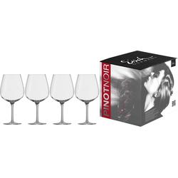 Eisch Rotweinglas Vinezza (4-tlg), bleifreies Kristallglas, 735 ml