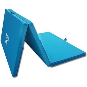 Weichbodenmatte faltbare Boden-Turnmatte Sportmatte Gymnastikmatte 80x200 BLAU