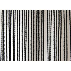 Wentex Pipes & Drapes Vorhang Fadenvorhang, 3x6m, 220g/m², schw.