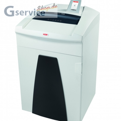 DOKUMENT SHREDDER / SECURIO P40i In Fragmente von 1,9 x 15 mm schneiden