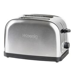 H.Koenig Toaster TOS14 für 2 Scheiben Toast, 850 W