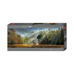 Huch! Puzzle Panorama-Puzzle Morning Salute, Edition Humboldt,, Puzzleteile