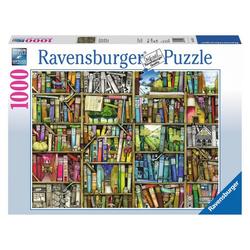 Ravensburger Puzzle Magisches Bücherregal, Colin Thompson Art Series, 1000 Puzzleteile