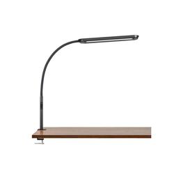 Tomons LED Schreibtischlampe 15W Dimmbar LED Schreibtischlampe mit Klemme, Schwanenhals Verstellbar, Mit Timer Memory Funktion