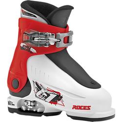 Skischuhe Idea up Gr.25-29 größenverstellbar, white-red-black rot