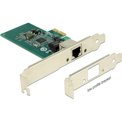 Delock PCI-Express Netzwerkkarte, 1Gbps (PCI-E x1), Netzwerkadapter