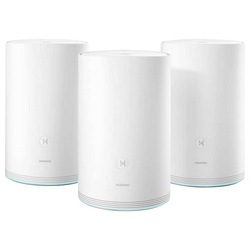 Huawei HUAWEI WiFi Q2 WLAN-Mesh-System [1167 Mbit/s, Dual-WLAN AC+N, 3x Gigabit Ethernet LAN] WLAN-Repeater