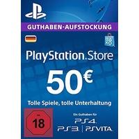 Sony PSN Guthaben-Aufstockung 50 EUR (DE)