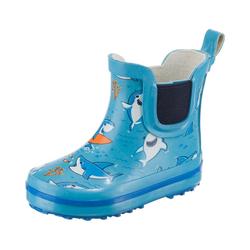 Beck Baby Gummistiefel SHARKS für Jungen Stiefel 19