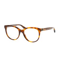 Gucci GG 0329O 002, inkl. Gläser, Cat Eye Brille, Damen