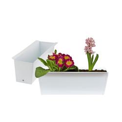 BigDean Blumenkasten Pflanzkasten Palette Paletten Pflanzkübel 35,5 x 12,5 x 12 cm Palettenkasten