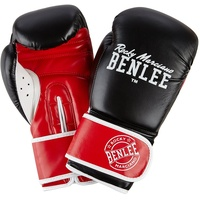 BENLEE Rocky Marciano Carlos Boxhandschuhe, Black/Red/White, 6
