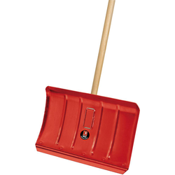 Ideal Schneeräumer Stahlblech mit Stiel 45 cm breit ( Inh.5 Stück )