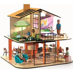Puppenhaus - Farbiges Haus bunt