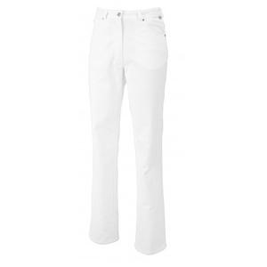 BP 1732-687-21-33/32 Jeans für Frauen, Stretch-Stoff, 300,00 g/m2 Stoffmischung mit Stretch, weiß, 33/32
