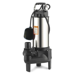 Guss Tauchpumpe Vortex 750 - geeignet für Schmutzwasser und Abwasser