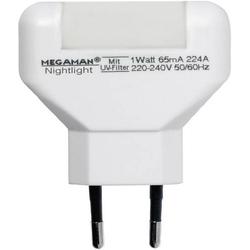 Megaman MM001 MM001 LED-Nachtlicht Rechteckig LED Weiß