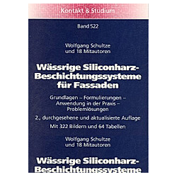 Wässrige Siliconharz-Beschichtungssysteme für Fassaden - Buch