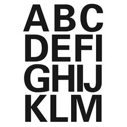 28 HERMA Klebebuchstaben 4167 Buchstaben A-Z