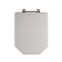 Sanitop WC-Sitz Athenas, Toilettendeckel / Klodeckel, weiß