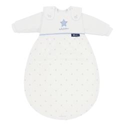 Alvi 799-1 Baby-Mäxchen 3tlg. Schlafsack bellybutton Classic Star mit Stick blue 68/74