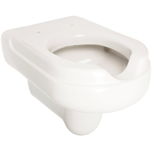Wand-WC-Set Komfort | Behindertengerecht | Weiß | Inklusive WC-Sitz | Tiefspüler