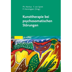 Kunsttherapie bei psychosomatischen Störungen: Buch von