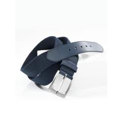 Avena Herren Textil-Dehngürtel Blau 100 cm, 105 cm, 110 cm, 115 cm, 85 cm, 90 cm, 95 cm