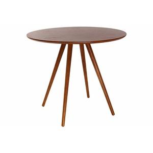 Design-Esstisch rund Nussbaum D90 ARTIK