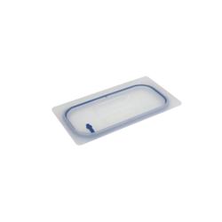 SCHNEIDER GN Deckel mit Silikondichtung, Robuster Deckel für GN-Behälter für den Gastrobedarf, Maße (L x B x H): 32,3 x 17,5 x 1,18 cm