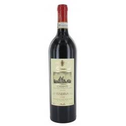 Tomaiolo Chianti Riserva trockener Rotwein Kirscharomen 750 ml