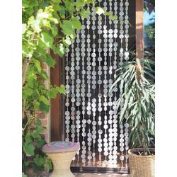 Vorhang Exotischer Muschelvorhang aus Capiz, Windspiel,.., Guru-Shop